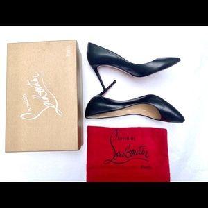 Louboutin pumps black Eloise 85 size 39.5